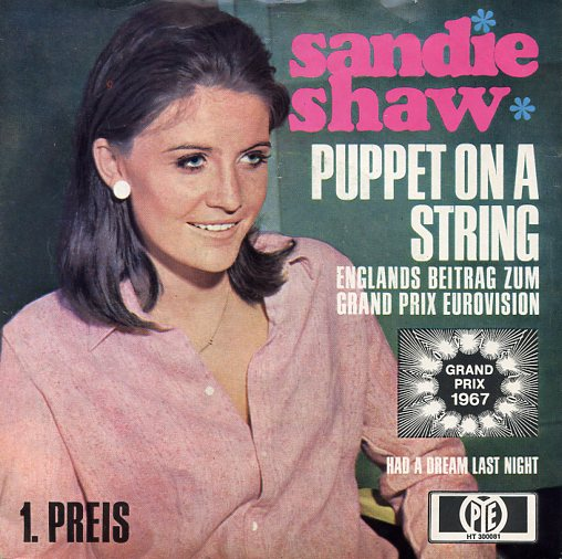 "SANDIE SHAW ""Puppet on a string"" 1967 (d)"