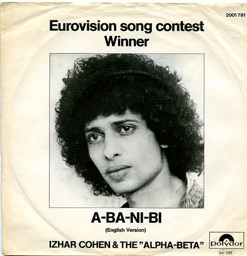 "IZHAR COHEN & THE ALPHA-BETA ""A-ba-ni-bi"" 1978 (d)"