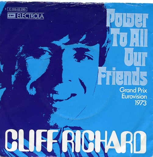 "CLIFF RICHARD ""Power to all our friends"" 1973 (d)"