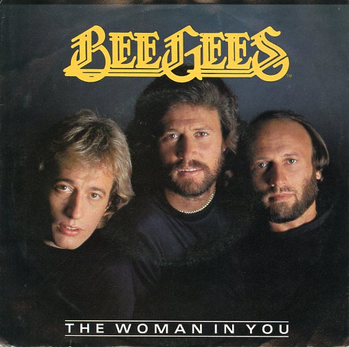 "BEE GEES ""The woman in you"""