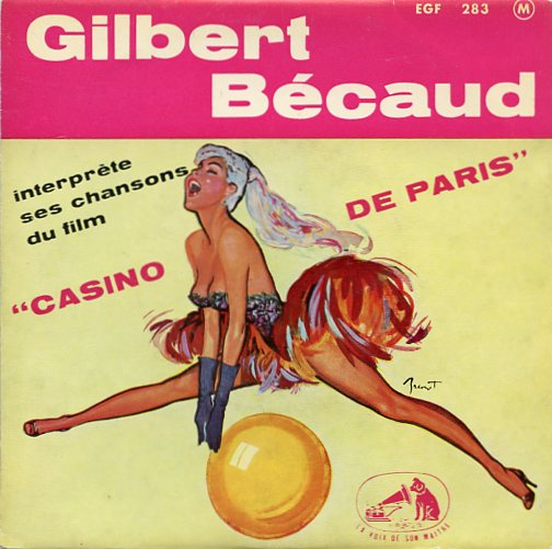 "GILBERT BECAUD ""Casino de Paris"" EP"