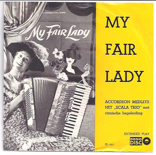 "Fono disc 1011 SCALA TRIO ""My Fair Lady"""