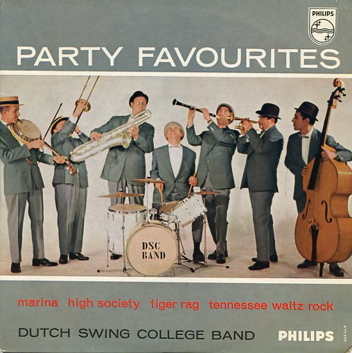"DUTCH SWING COLLEGE BAND ""Party Favourites "" EP"