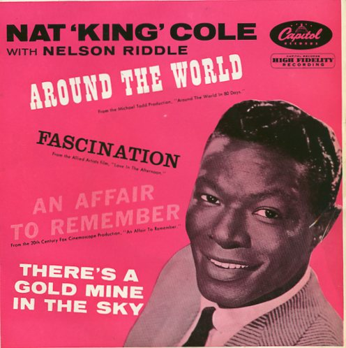 "NAT KING COLE ""Around the world"" EP"