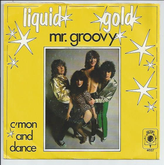 "GIP 4037 LIQUID GOLD ""Mr. Groovy"""