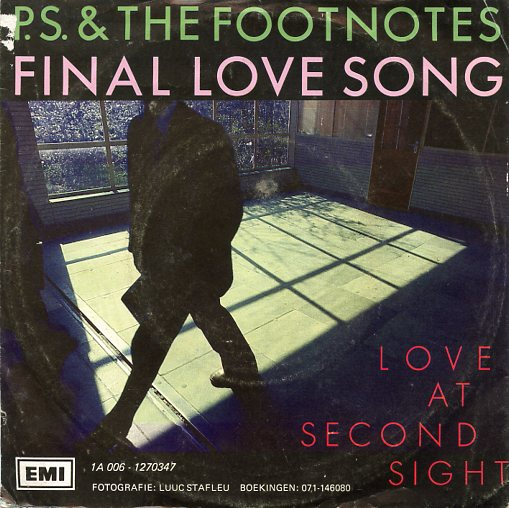 "P.S. & THE FOOTNOTES ""Final love song"""