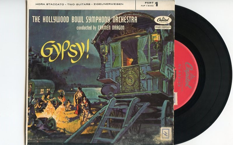 "HOLLYWOOD BOWL SYMPHONY ORCHESTRA ""Gypsy"" EP"