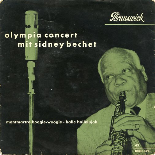 "SIDNEY BECHET ""Olympia Concert"" EP"