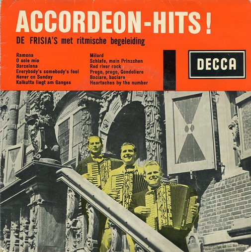 "FRISIA'S ""Accordeon - Hits"" EP"
