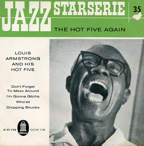 "LOUIS ARMSTRONG ""The Hot Five again"" EP"