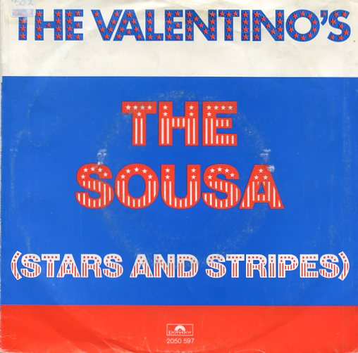 "THE VALENTINO'S ""The Sousa (stars and stripes)"""