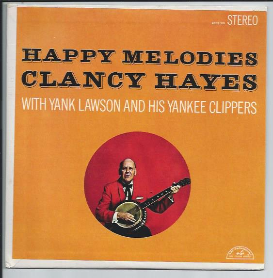 "CLANCY HAYES ""Happy Melodies"" EP"