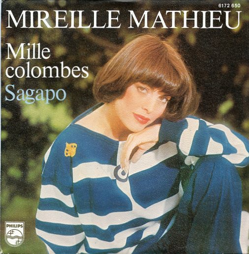 "MIREILLE MATHIEU ""Mille colombes"""
