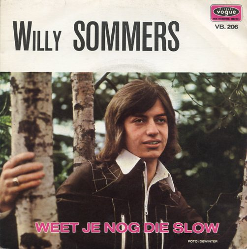 "WILLY SOMMERS ""Weet je nog die slow"""
