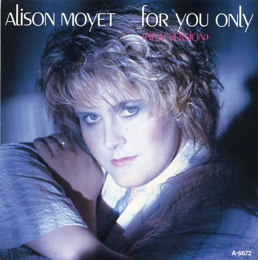 "ALISON MOYET ""For you only"""