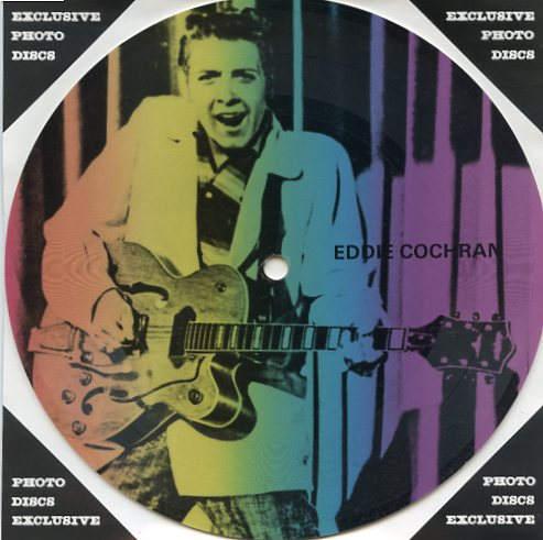 "EDDIE COCHRAN ""Masters of Rock & Roll vol. 2 PR 36"" (pict.disc)"