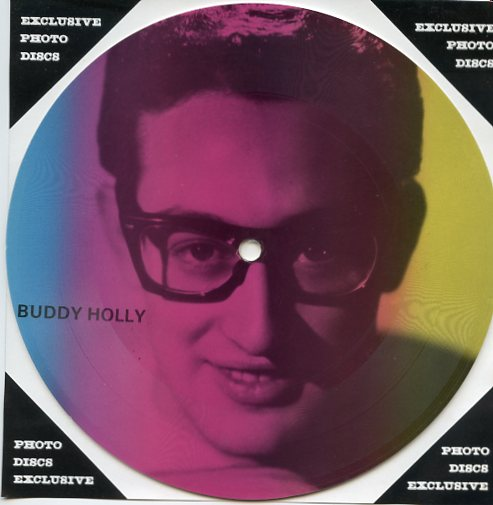 "BUDDY HOLLY ""Masters of Rock & Roll vol. 2 PR 25"" (pict.disc)"