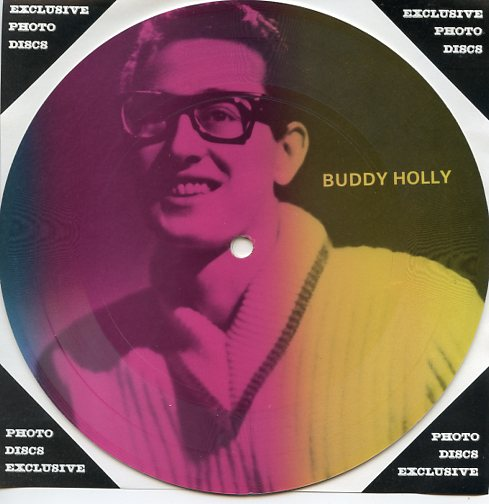 "BUDDY HOLLY ""Masters of Rock & Roll vol. 1 PR 13"" (Pict.disc)"