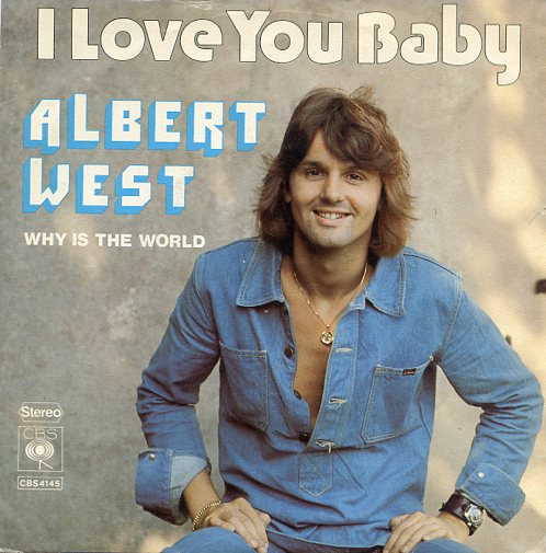 "ALBERT WEST ""I love you Baby"""