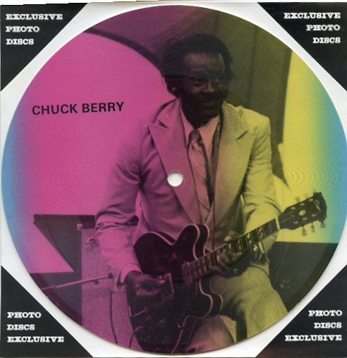 "CHUCK BERRY ""Masters of Rock & Roll vol. 2 PR 34"" (Pict.disc)"