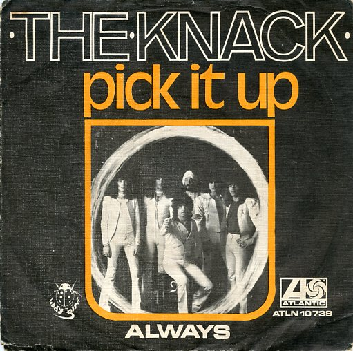 "THE KNACK (NL) ""Pick it up"" (A)"