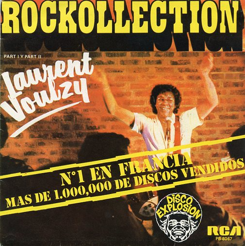 "LAURENT VOULZY ""Rockollection"""