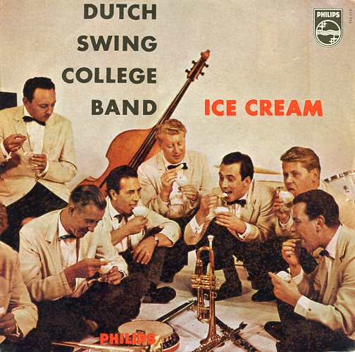 "DUTCH SWING COLLEGE BAND ""Ice Cream"" EP"