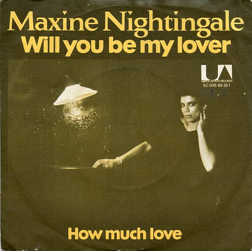 "MAXINE NIGHTINGALE ""Will you be my lover"""