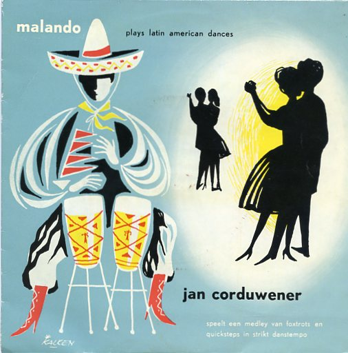 "JAN CORDUWENER & MALANDO ""Dance time for you"" EP"