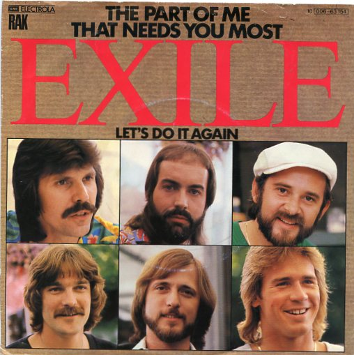 "EXILE ""The part of me that needs you most"""