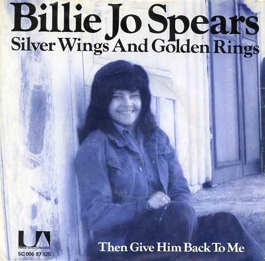 "BILLIE JO SPEARS ""Silver wings and golden rings"""