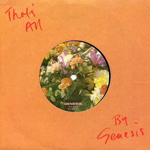 "GENESIS ""That's all"""