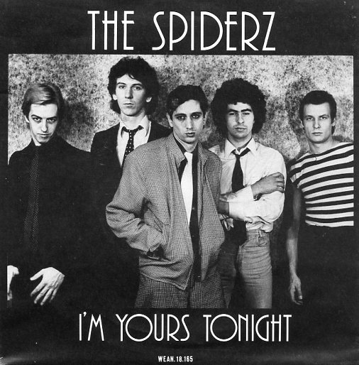 "SPIDERZ ""I'm yours tonight"""