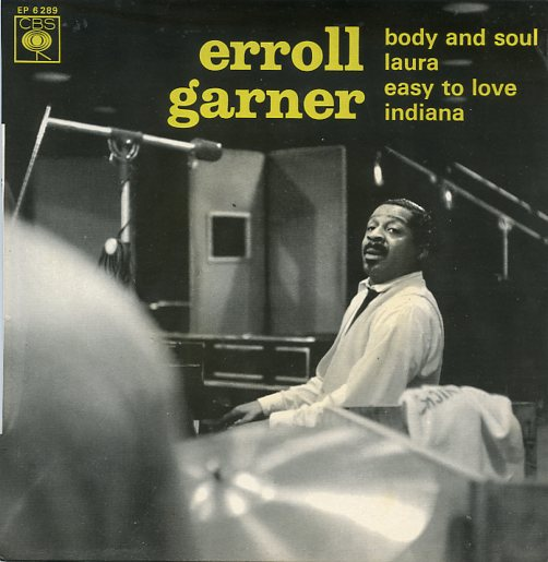 "ERROLL GARNER ""Body and Soul"" EP"