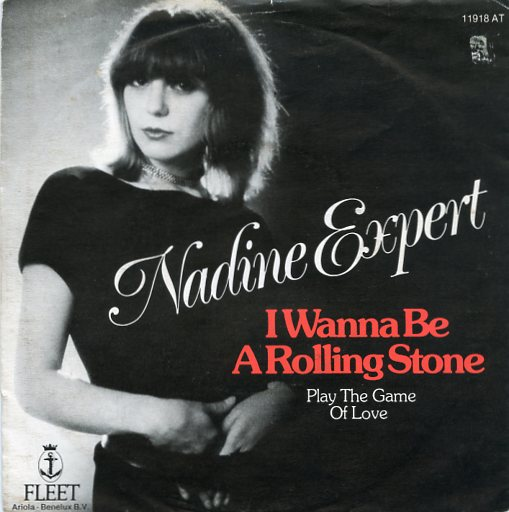 "NADINE EXPERT ""I wanna be a Rolling Stone"""