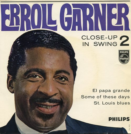 "ERROLL GARNER ""Close-up in swing vol. 2"" EP"