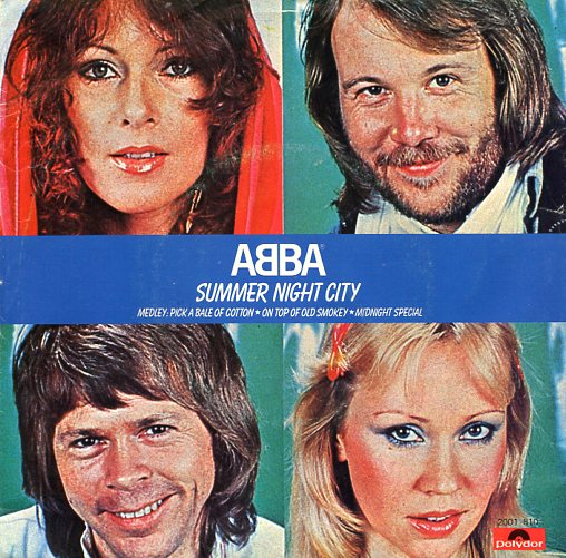 "ABBA ""Summer night city"""