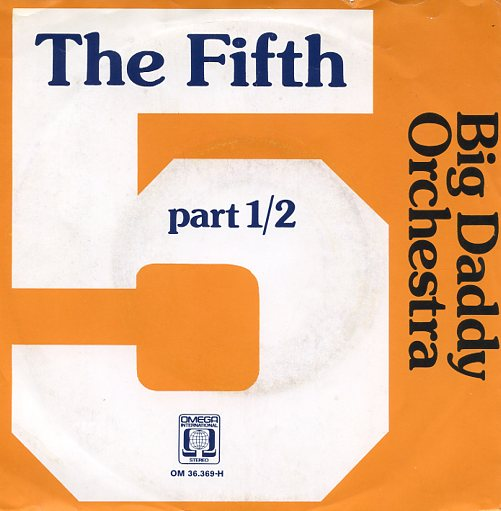 "BIG DADDY ORCHESTRA ""The fifth"""