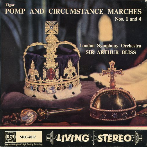 "LONDON SYMPHONY ORCHESTRA ""Pomp and Circumstance marches"" EP"