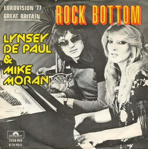 "LYNSEY DE PAUL & MIKE MORAN ""Rock bottom"" 1977"
