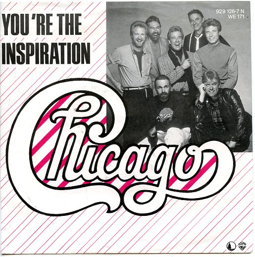 "CHICAGO ""You're the inspiration"""