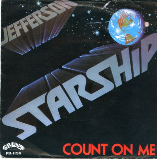 "JEFFERSON STARSHIP ""Count on me"""