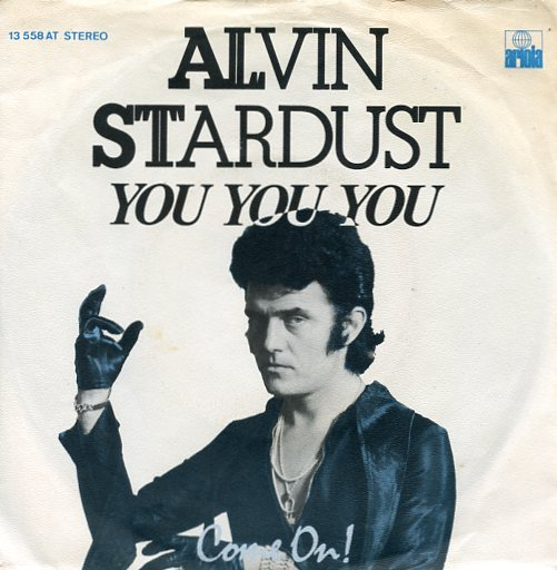 "ALVIN STARDUST ""You You You"""