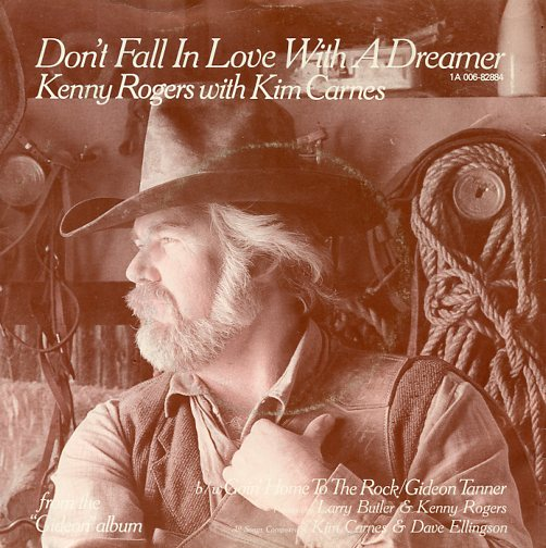 "KENNY ROGERS & KIM CARNES ""Don't fall in love with a dreamer"""