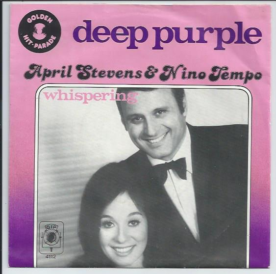 "GIP 4112 APRIL STEVENS & NINO TEMPO ""Deep purple"""