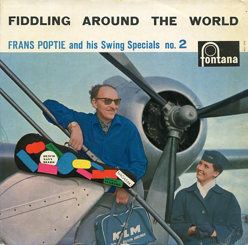 "FRANS POPTIE & HIS SWING SPECIALS ""Fiddling around the world 2"""