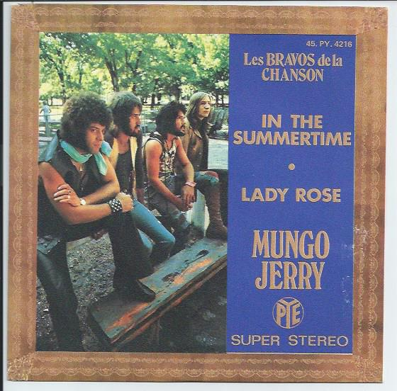 "MUNGO JERRY ""In the summertime"" (fr) (A)"