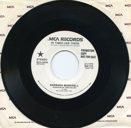 "BARBARA MANDRELL ""In times like these"" (promo)"