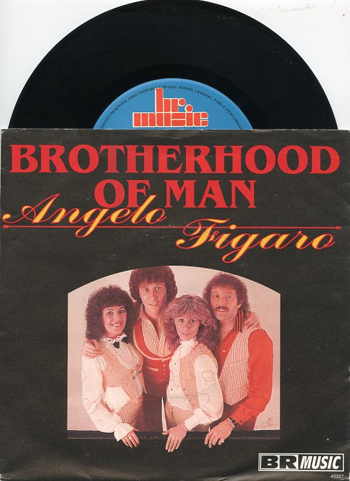 "BROTHERHOOD OF MAN ""Angelo"""