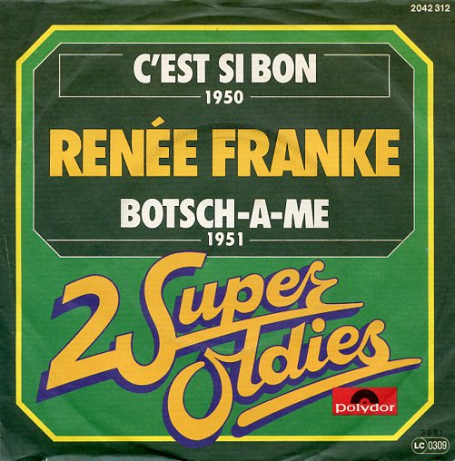 "2 Super Oldies ""RENEE FRANKE"" (jb)"